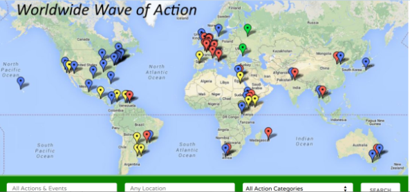 1 Worldwide Wave of Action