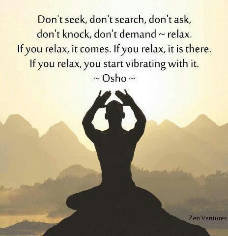 osho meditate