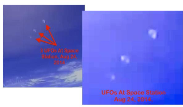 Three UFOs Flying In Formation Seen Leaving Earth Near Space Station,~ 27th AUG 2014  Ufo-3-drops