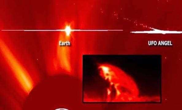 ufo sun x solar flares sun kill shot
